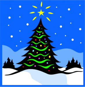 Juletræstænding